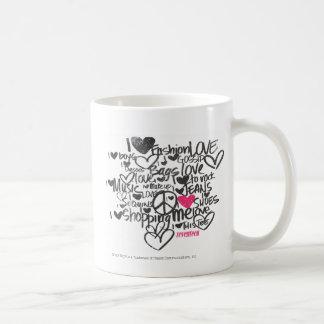 Graffiti Magenta Coffee Mug