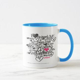Graffiti Magenta Mug