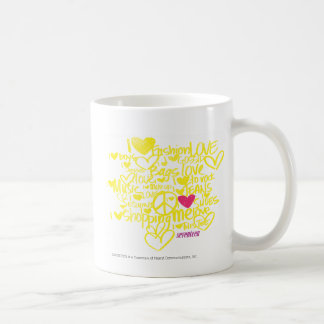 Graffiti Magenta/Yellow Coffee Mug
