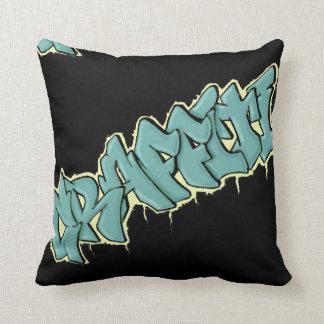 GRAFFITI mojo pillow/cushion Throw Pillow