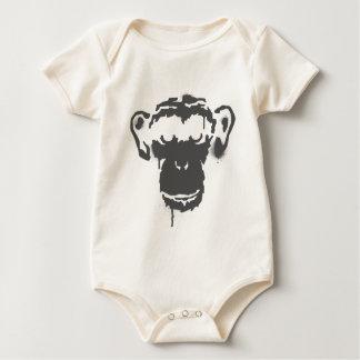 Graffiti Monkey Baby Bodysuit