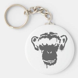 Graffiti Monkey Key Ring