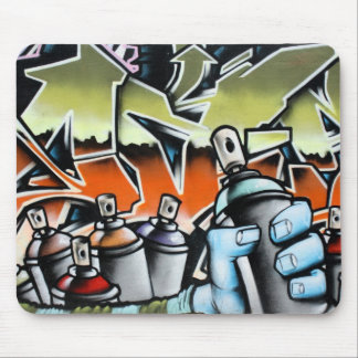 Graffiti Mouse Pad