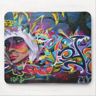 Graffiti mouse-pad mouse mat