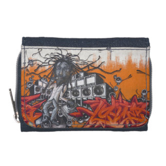 Graffiti music wallet