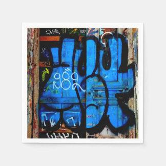Graffiti napkins. disposable napkin