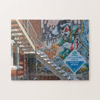 Graffiti of Montreal. Jigsaw Puzzle