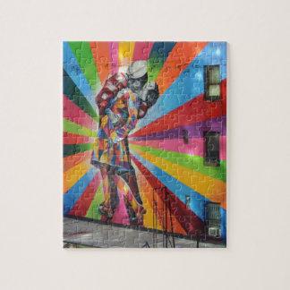 Graffiti of New York Jigsaw Puzzle