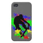 Graffiti Paint Splotches Skater iPhone 4/4S Cover