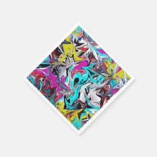 Graffiti Paper Napkins