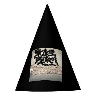 graffiti party hat