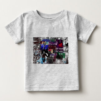 Graffiti Personalized Infant t-shirt