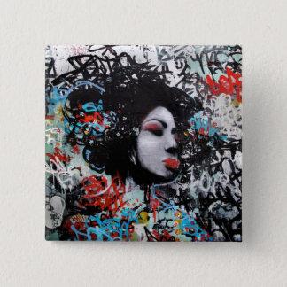 Graffiti Pin