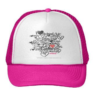 Graffiti Pink Cap