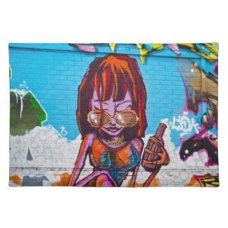 Graffiti Placemat