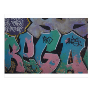 Graffiti Postcard