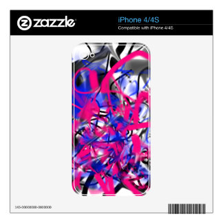 Graffiti Protector Skin For The iPhone 4S
