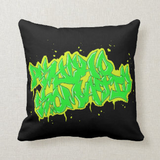 GRAFFITI psychosomatic mojo pollow Cushion