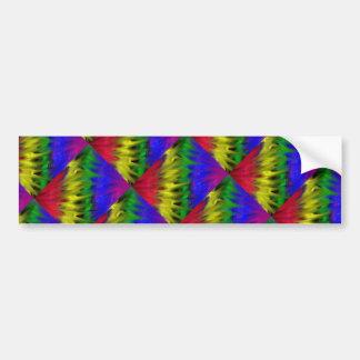Graffiti Rainbow Bumper Sticker