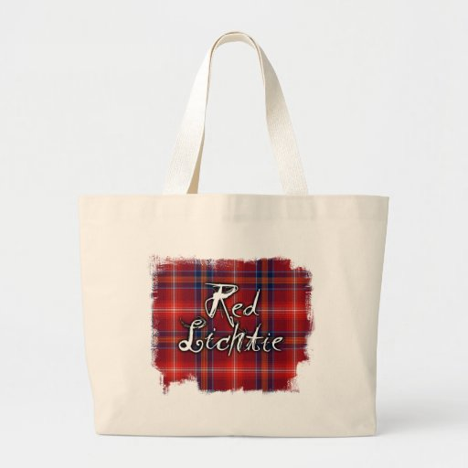 Graffiti Red Lichtie collection Tote Bags