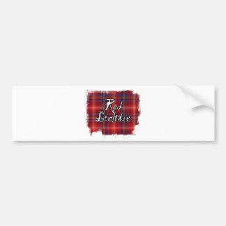 Graffiti Red Lichtie collection Bumper Sticker