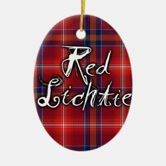 Graffiti Red Lichtie collection Christmas Ornament