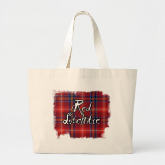 Graffiti Red Lichtie collection Large Tote Bag