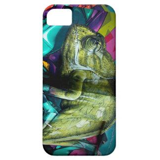 Graffiti reptile iPhone 5 cases