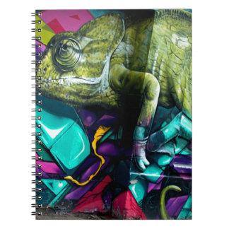 Graffiti reptile notebooks