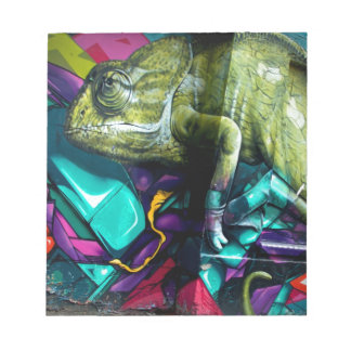 Graffiti reptile notepad