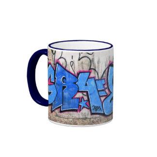 Graffiti  ringer mug