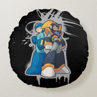 Graffiti Round Cushion