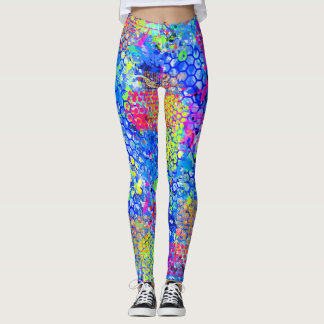Graffiti Sea Leggings