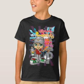 Graffiti servant boy and background shirts