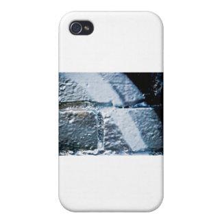 Graffiti Silver spray-paint closeup iPhone 4 Covers