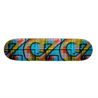 Graffiti skateboard. skateboard