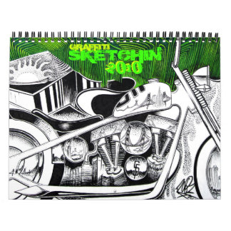 Graffiti Sketchin 2010 Calendar
