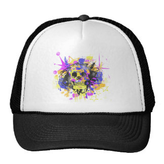 Graffiti Skull Cap
