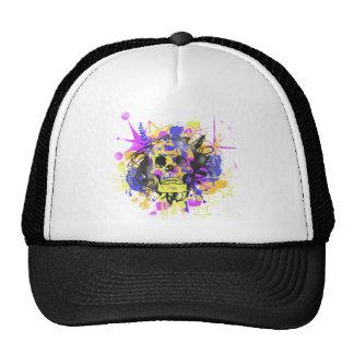 Graffiti Skull Hat
