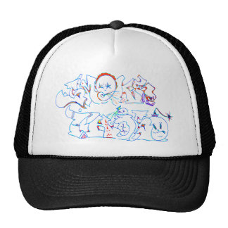 Graffiti Smoke This Hats
