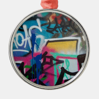 graffiti smudge background christmas ornament
