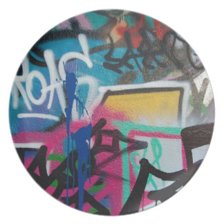 graffiti smudge background plate