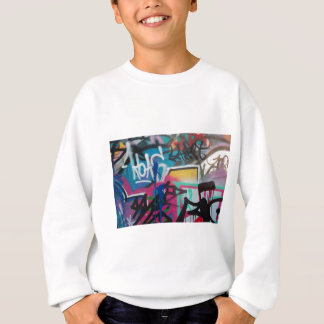 graffiti smudge background sweatshirt