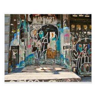 Graffiti- SOHO NYC Photo Print