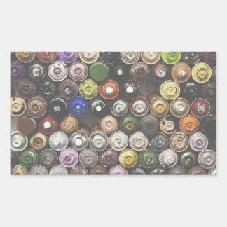Graffiti Spray Cans Sticker - Retro Style