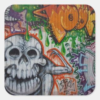 Graffiti Square Sticker