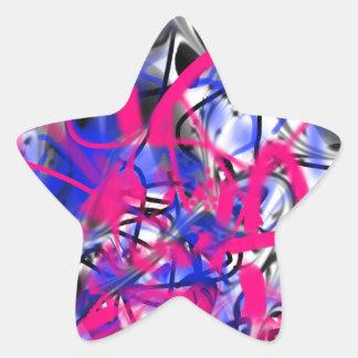 Graffiti Star Stickers