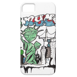 Graffiti statue of liberty barely there iPhone 5 case