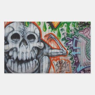 Graffiti Rectangular Stickers