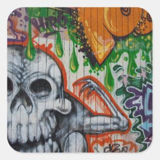 Graffiti Square Stickers